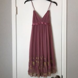 Vintage Betsey Johnson tulle baby doll dress